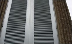 Lynchburg Waste Water Treatment Plant - Custom Louvers