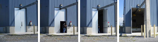 Bluestone Chlorine Doors