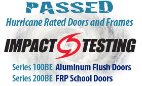 Cline Doors - Pairs Impact Testing