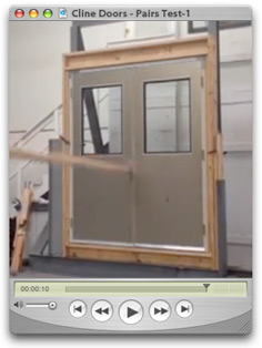 Cline Doors - Pairs Test Video