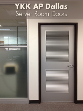 YYK AP Dallas - Server Room Door